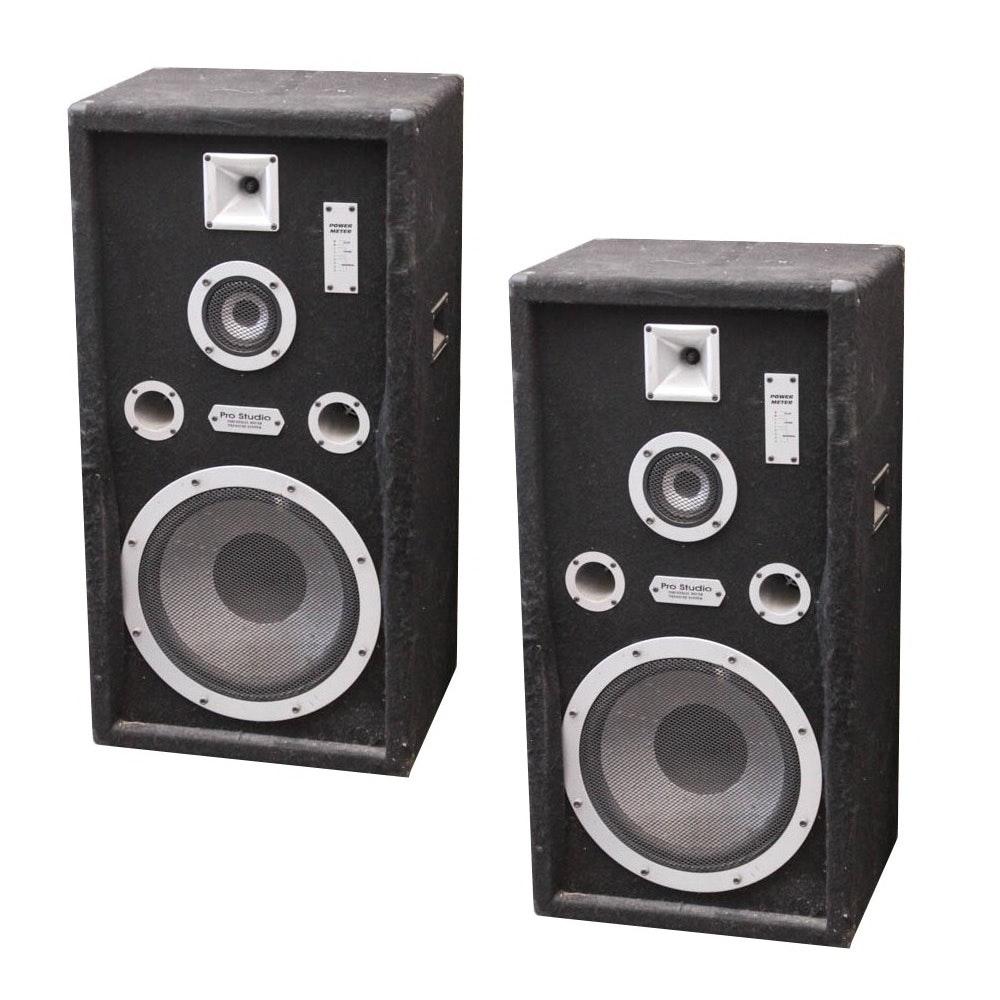 Bose Pro Speakers >> Welton Pro Studio Industrial Sound Pressure System Speakers : EBTH