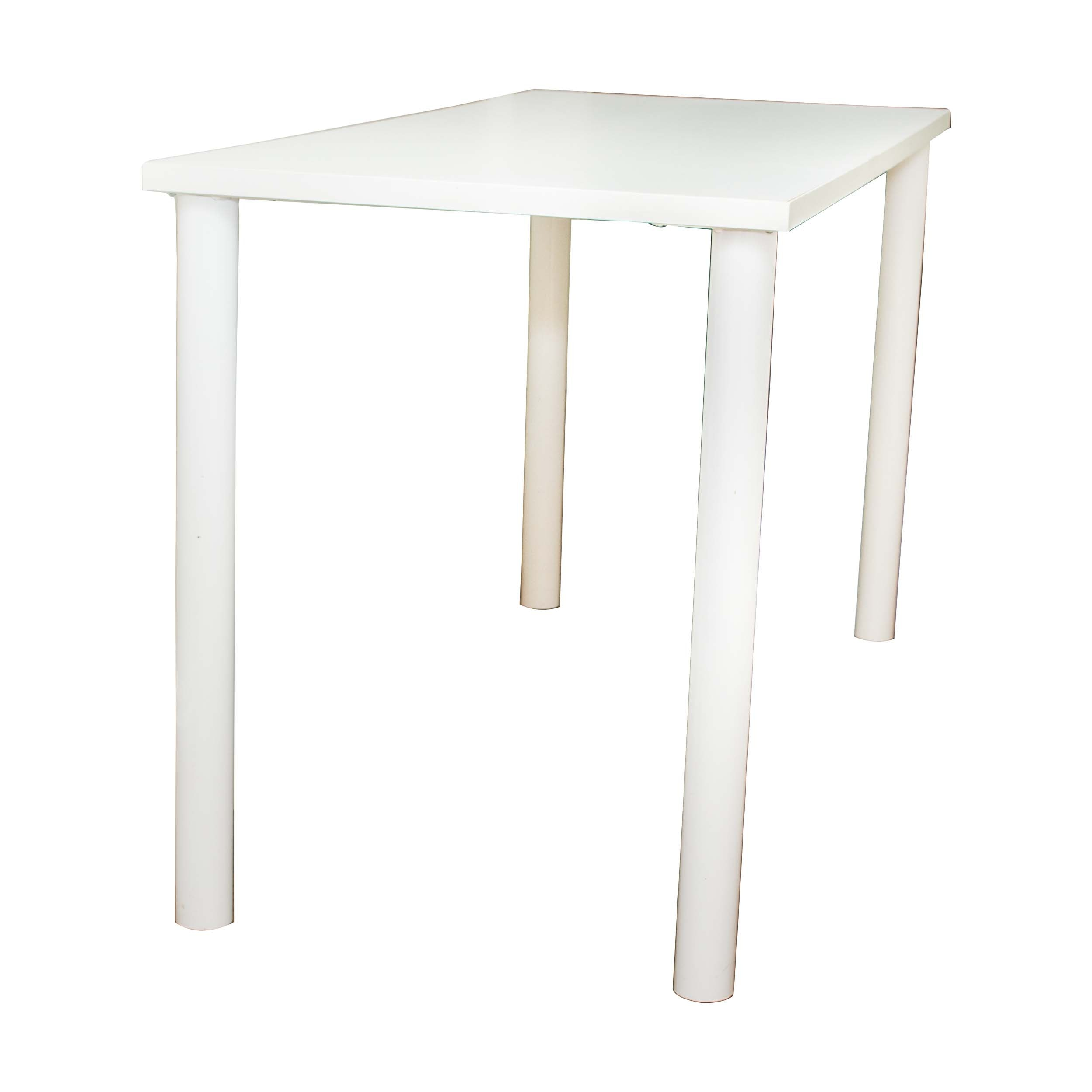 White Laminate Table