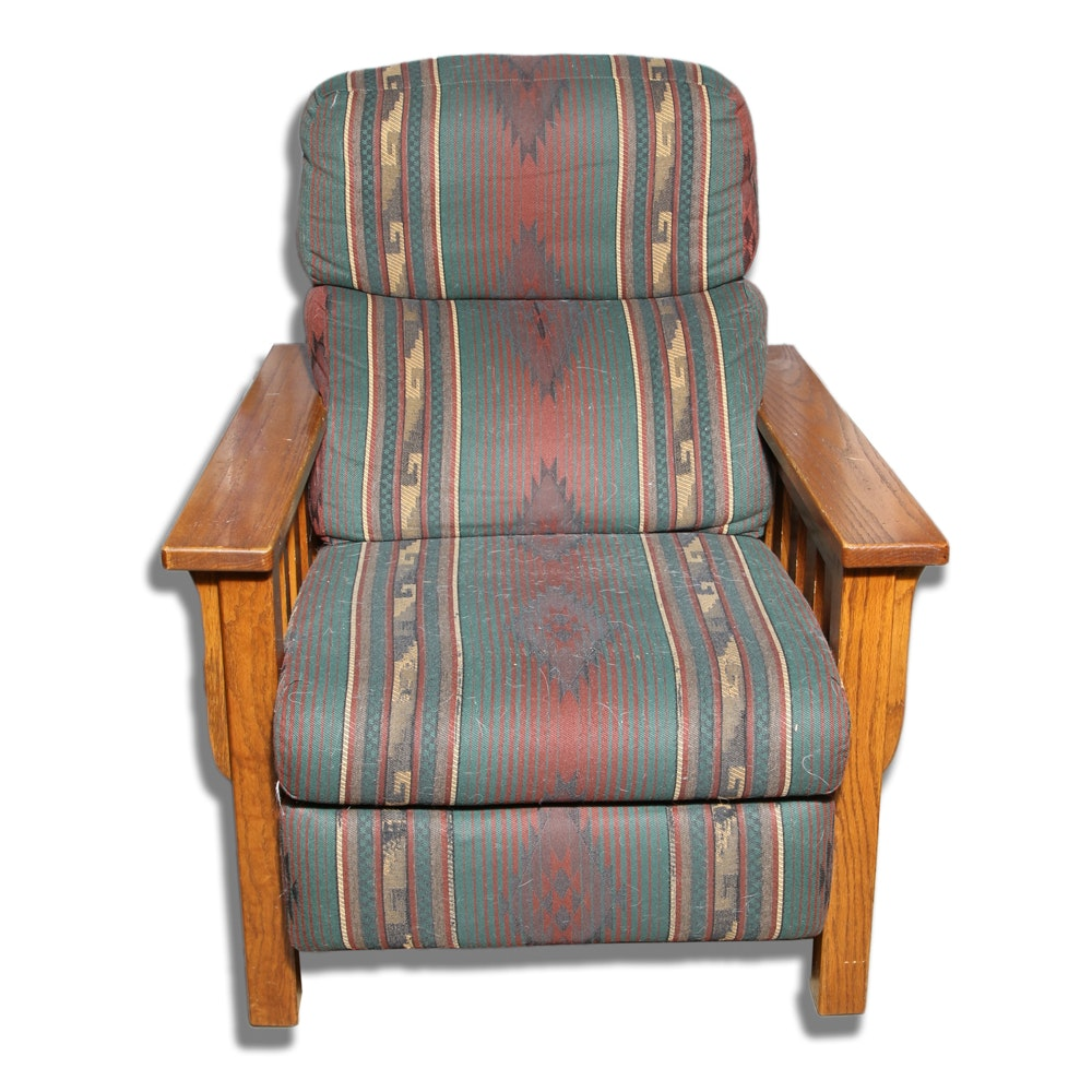 Mission Style Armchair