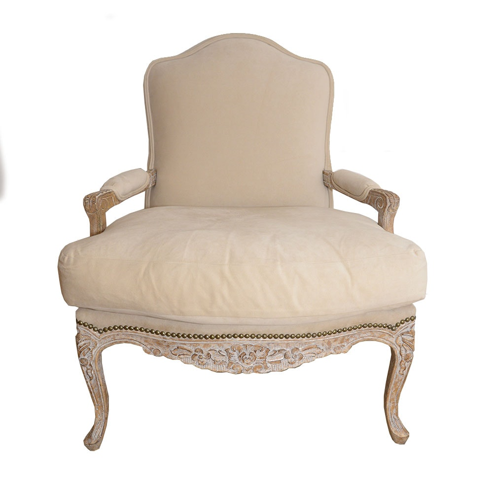 Louis XV Style Fauteuil by Kreiss