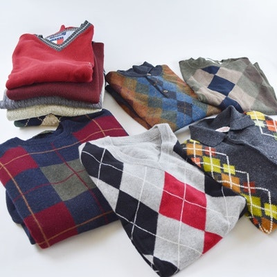 Men's Vest and Sweater Collection