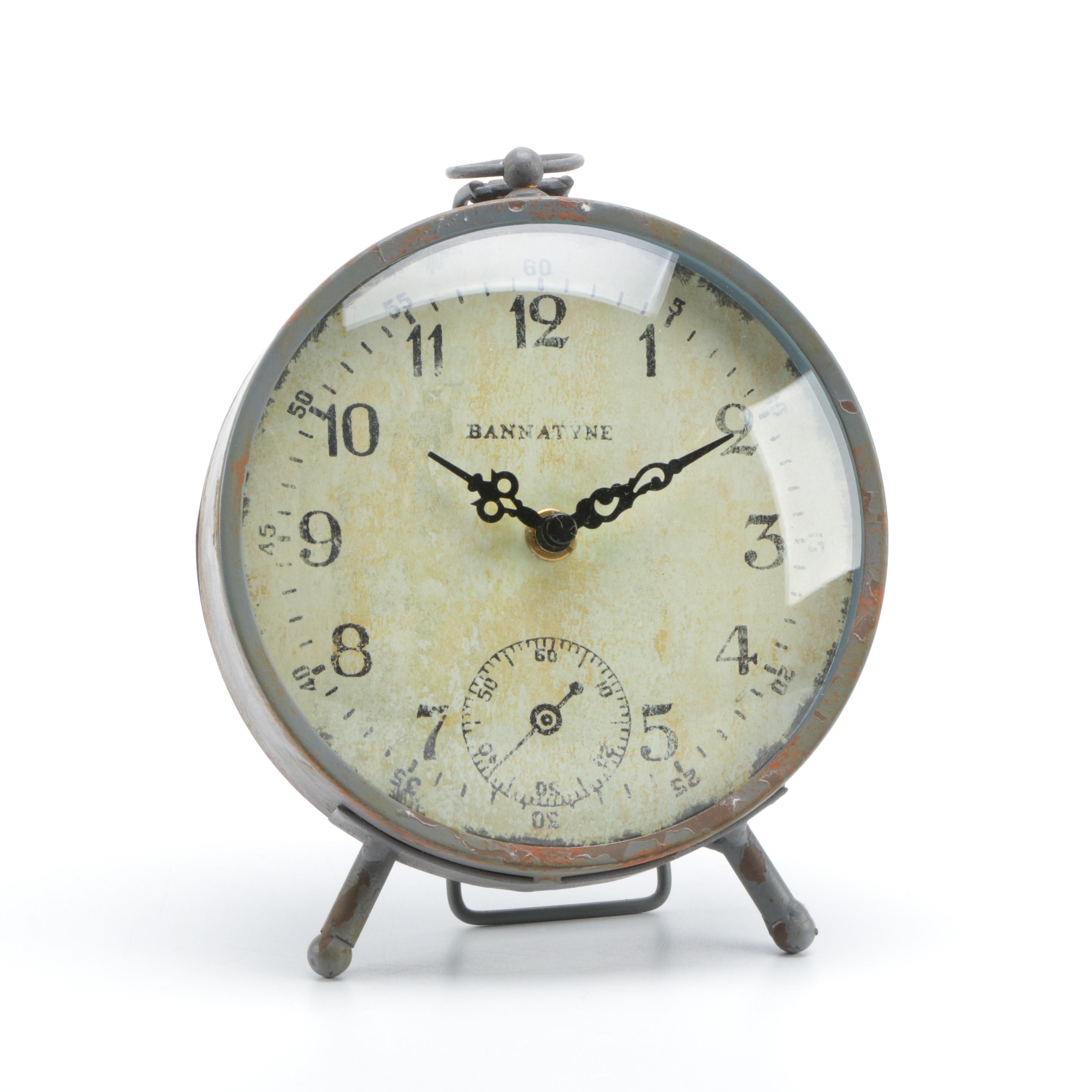 Metal Bannatyne Clock