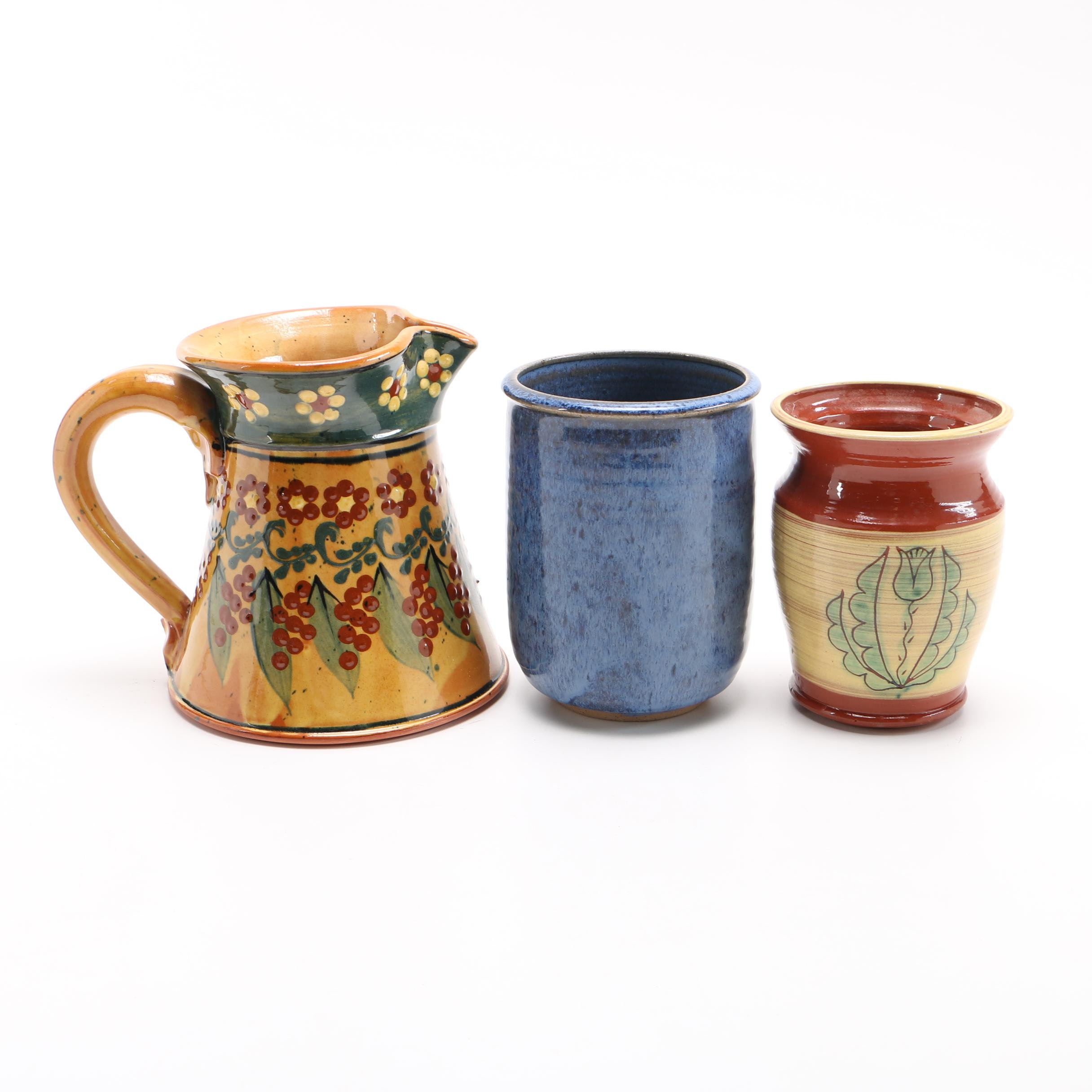 Collection of Ceramic Pottery