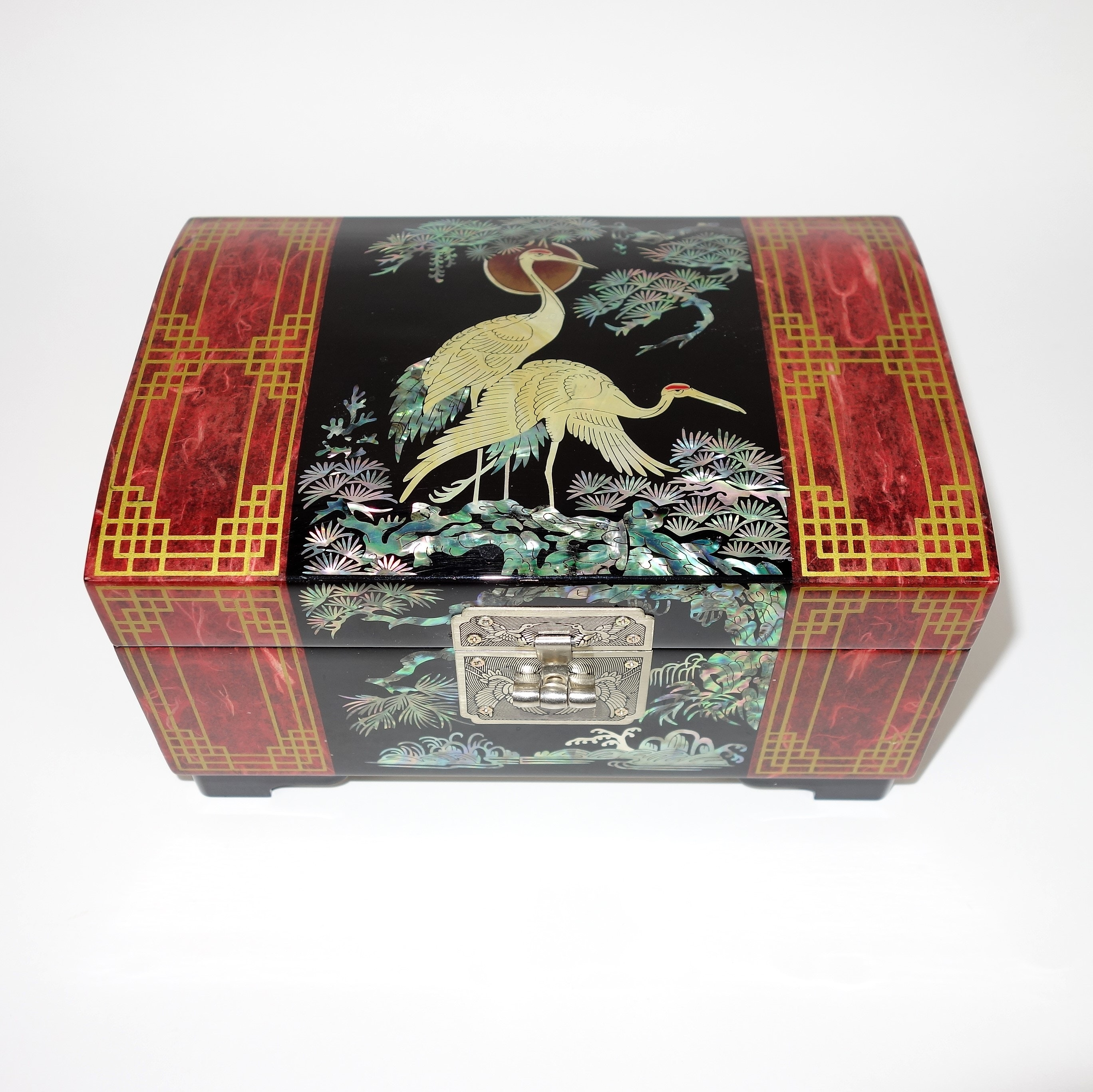 Korean Made Mother-of-Pearl Jewelry Music Box
