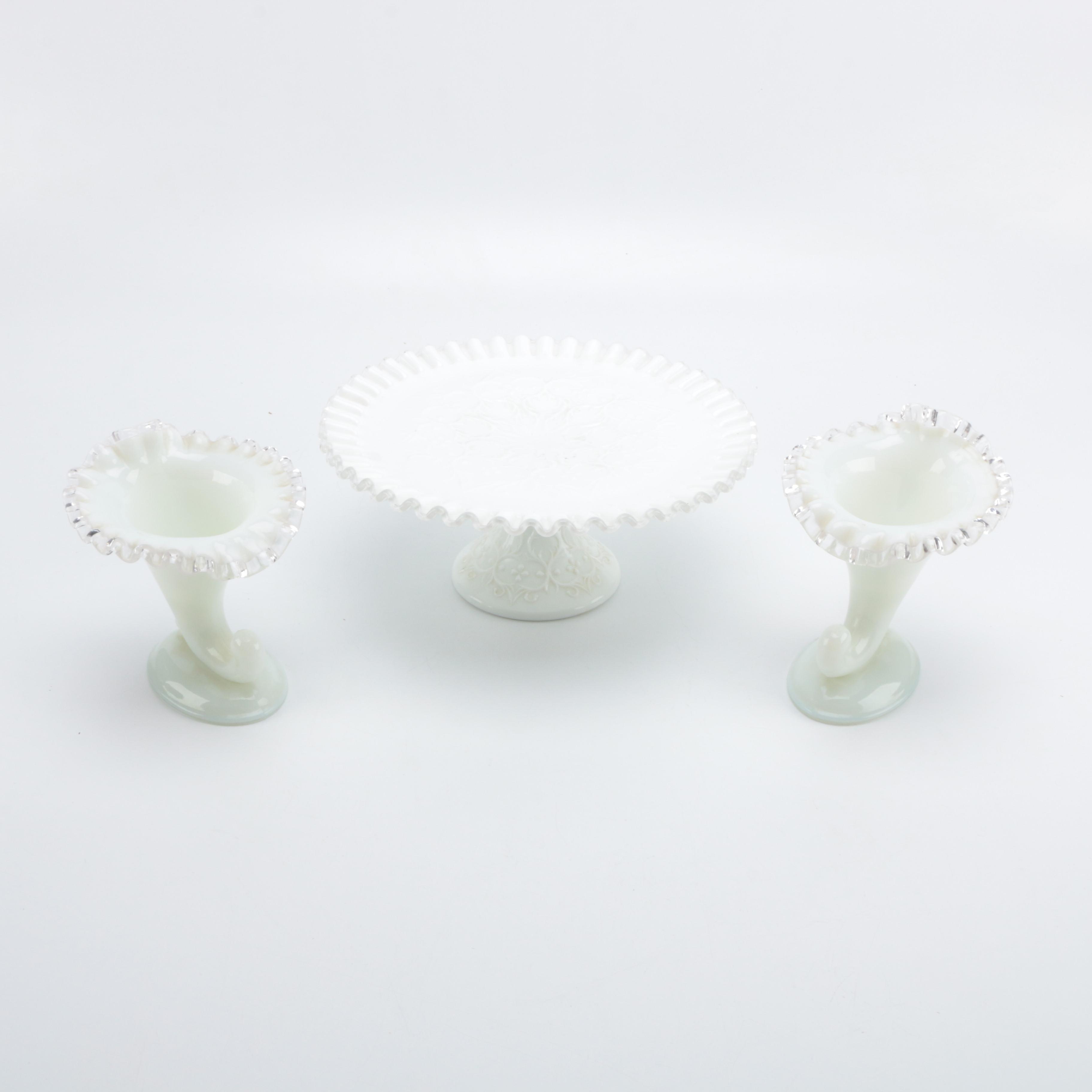 Vintage Milk Glass Assortment