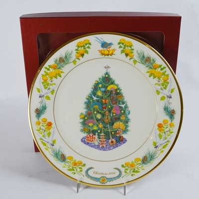 Lenox 2006 Japan Christmas Trees Around The World Collector Plate