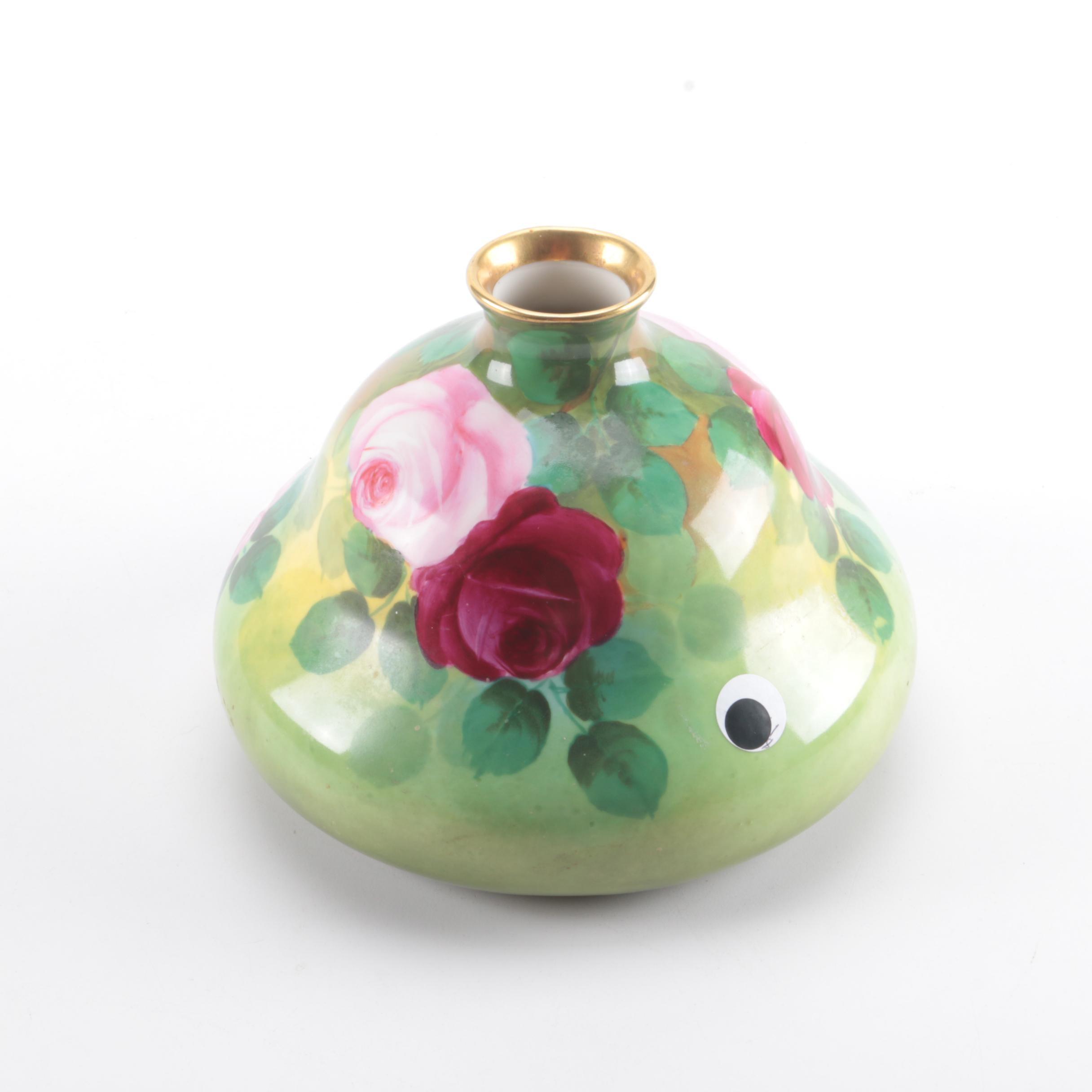 Habsburg Austrian Porcelain Vase
