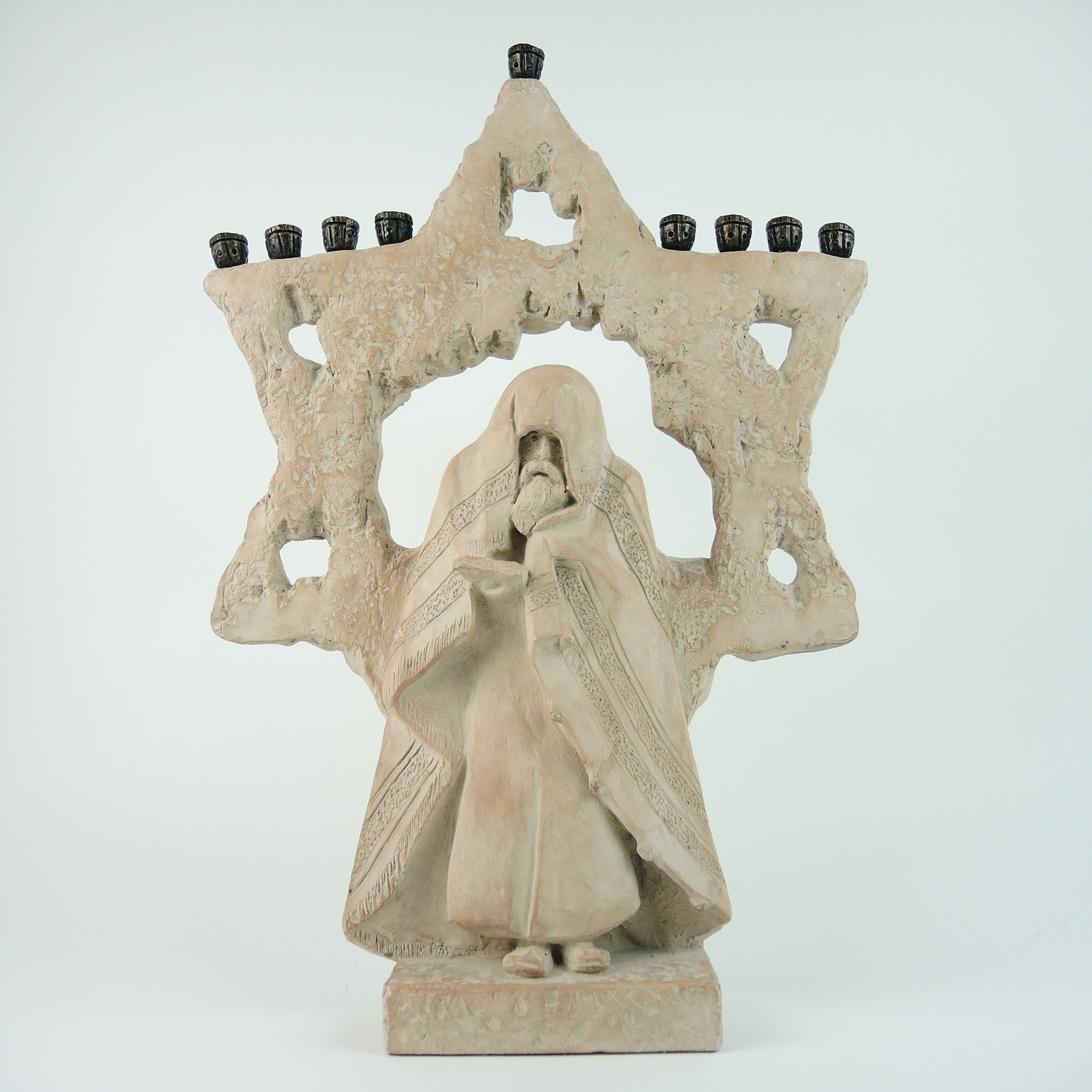 Large Roth Menorah Sculpture by Austin Productions 1981