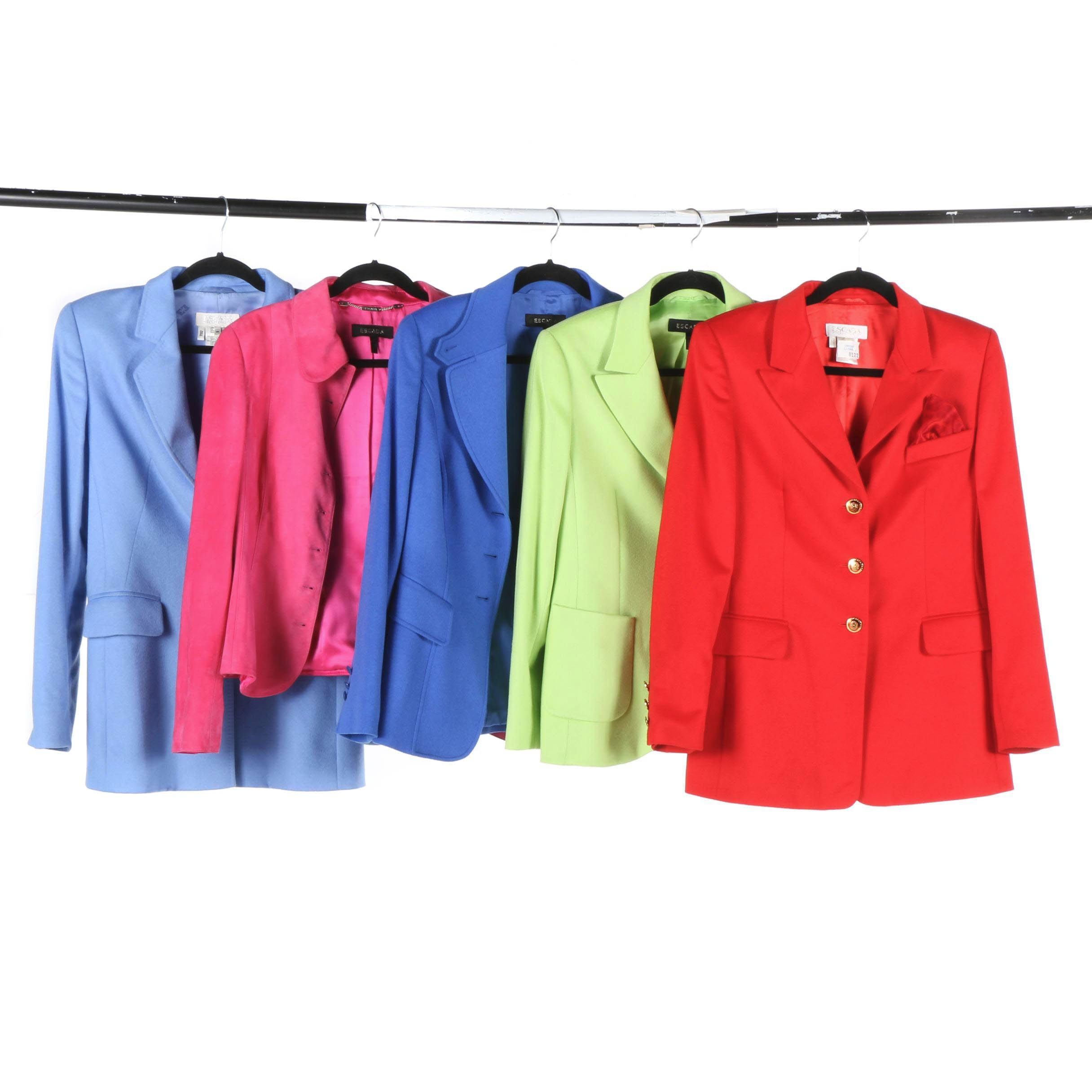 Escada Blazers and Jackets