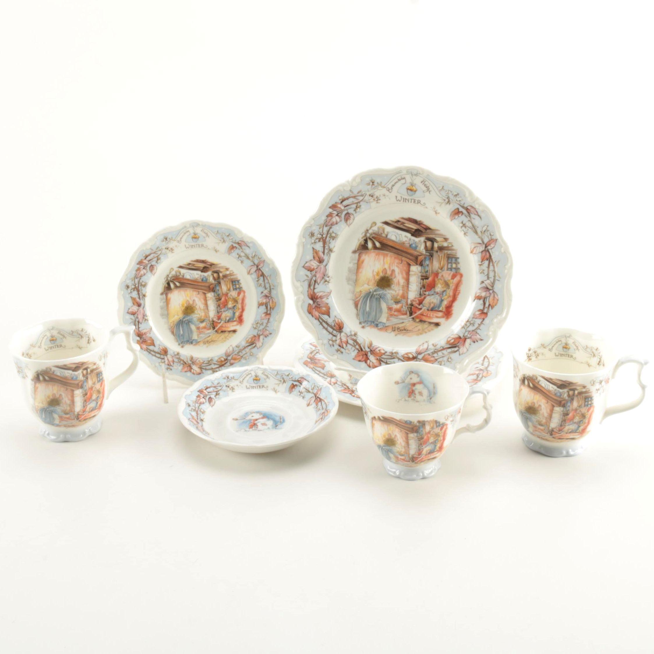 "Royal Doulton ""Winter"" Tableware"