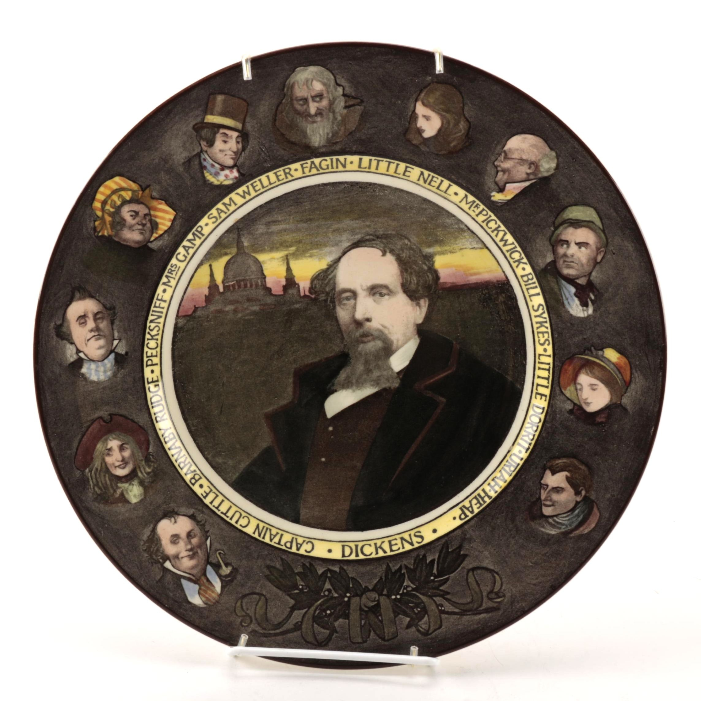 Royal Doulton Collectible Charles Dickens Plate