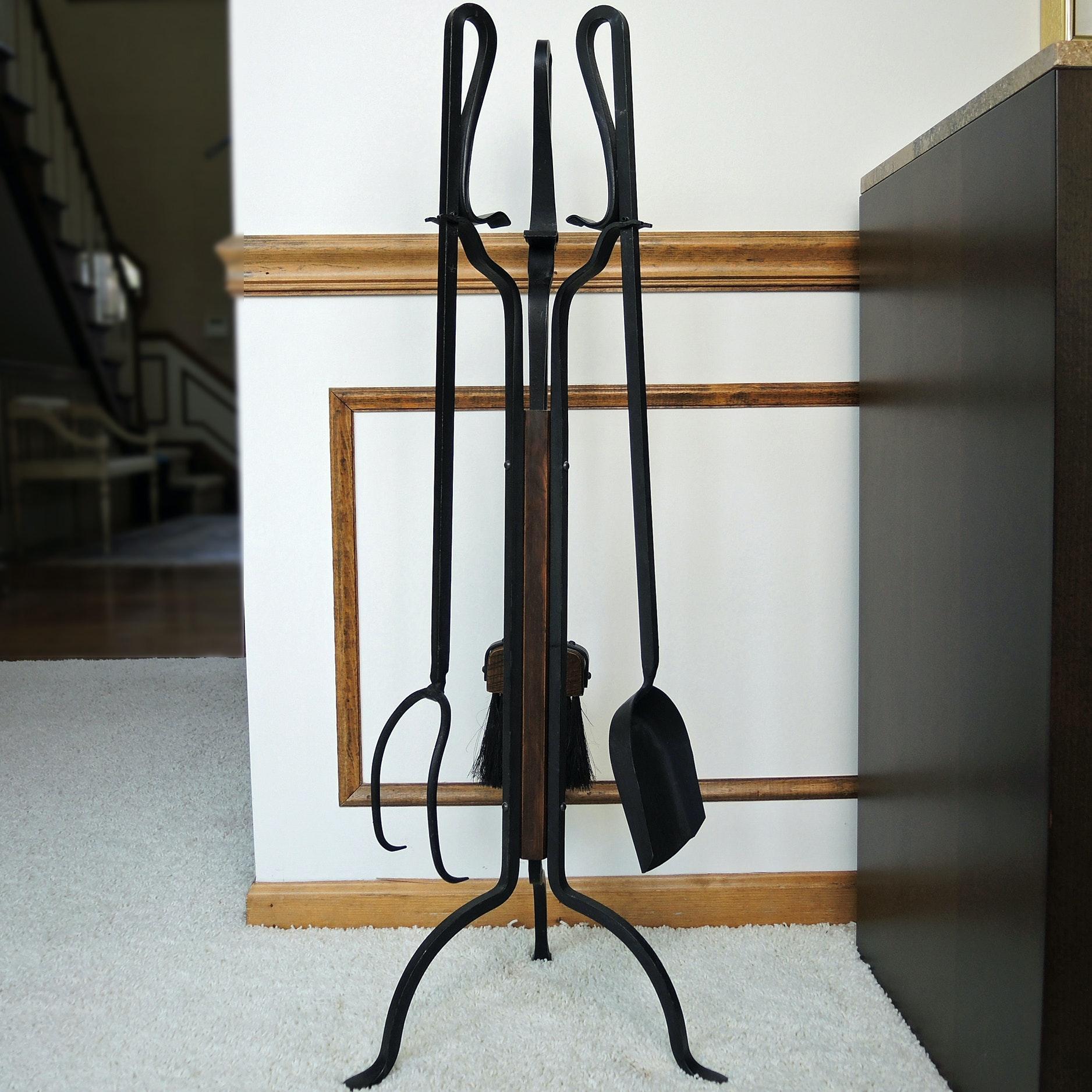 Vintage Fireplace Tools