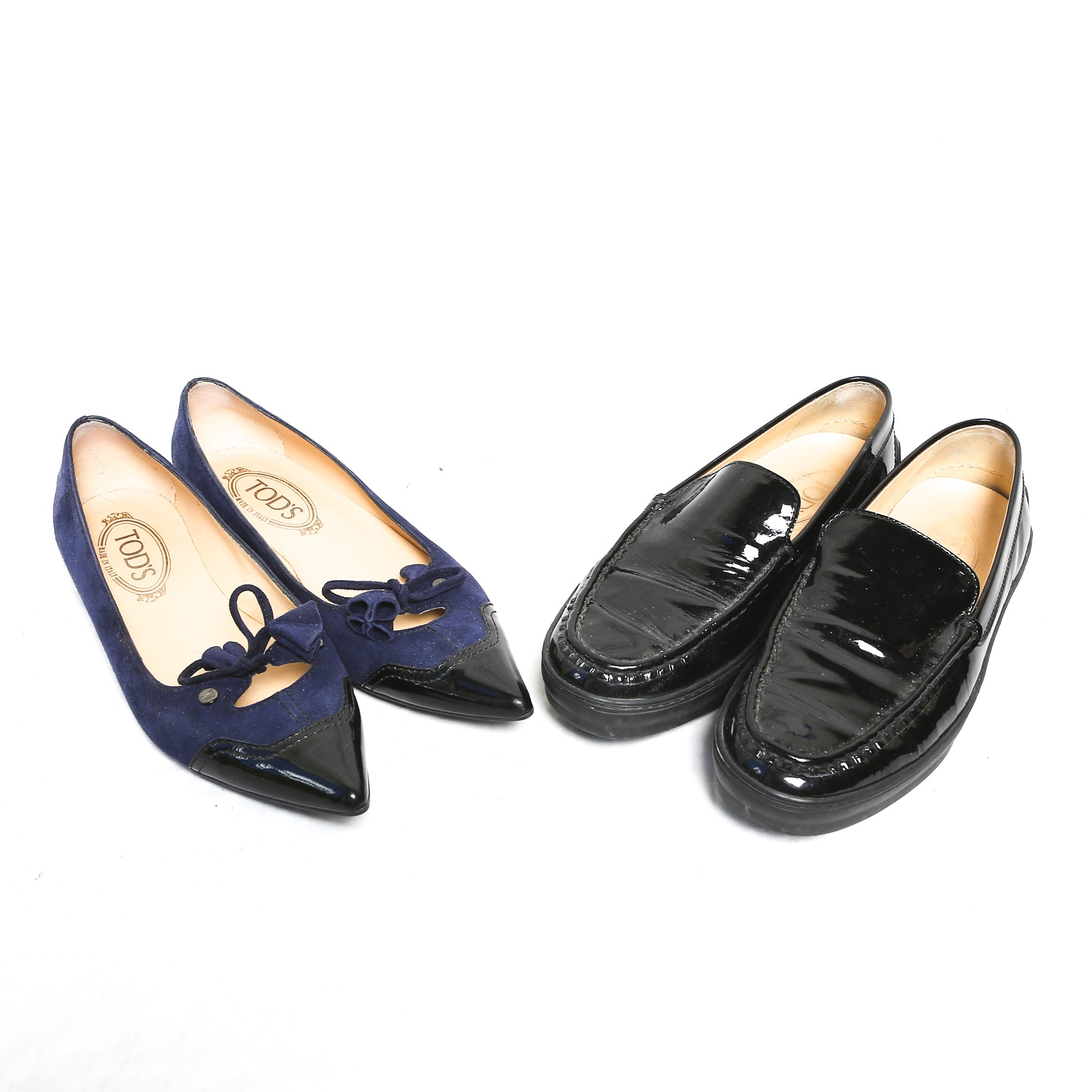 Two Pairs of Tod's Flats