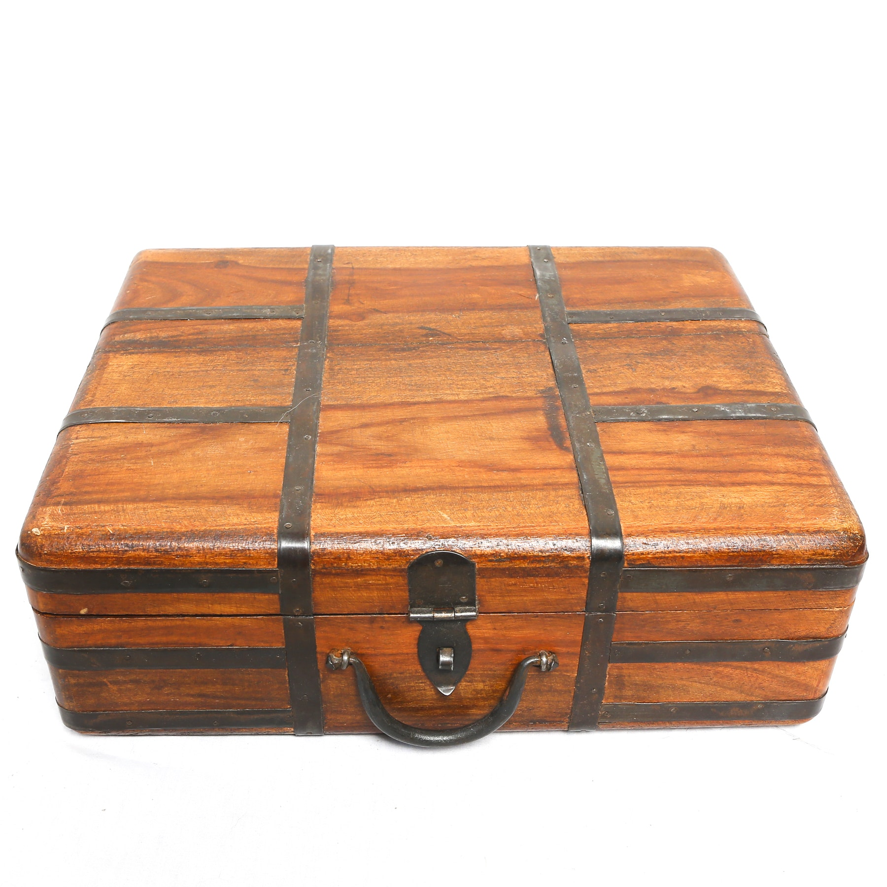 Vintage Wooden Storage Box