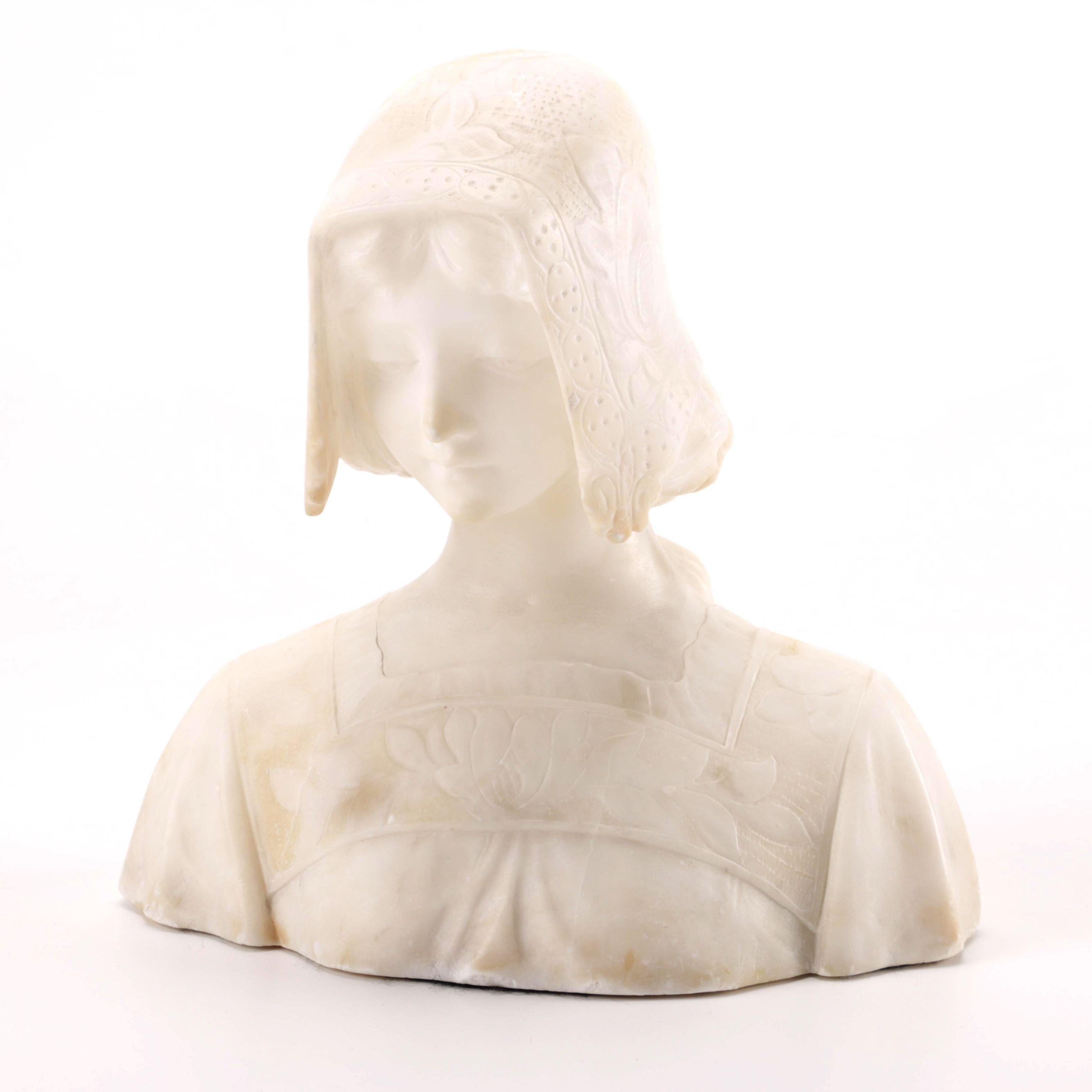 Ceramic Bust of a Female