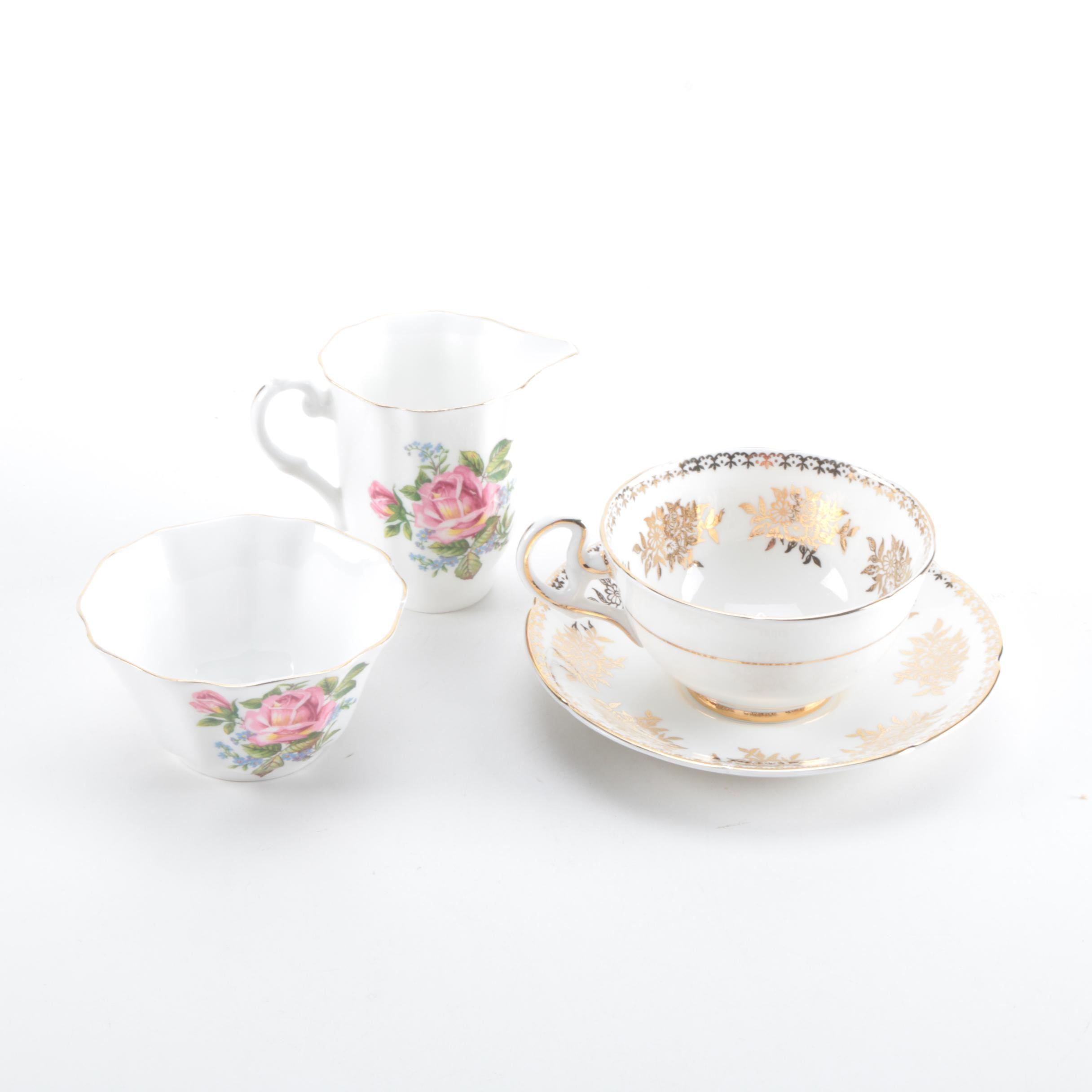 Royal Grafton Fine Bone China Teacup and Saucer