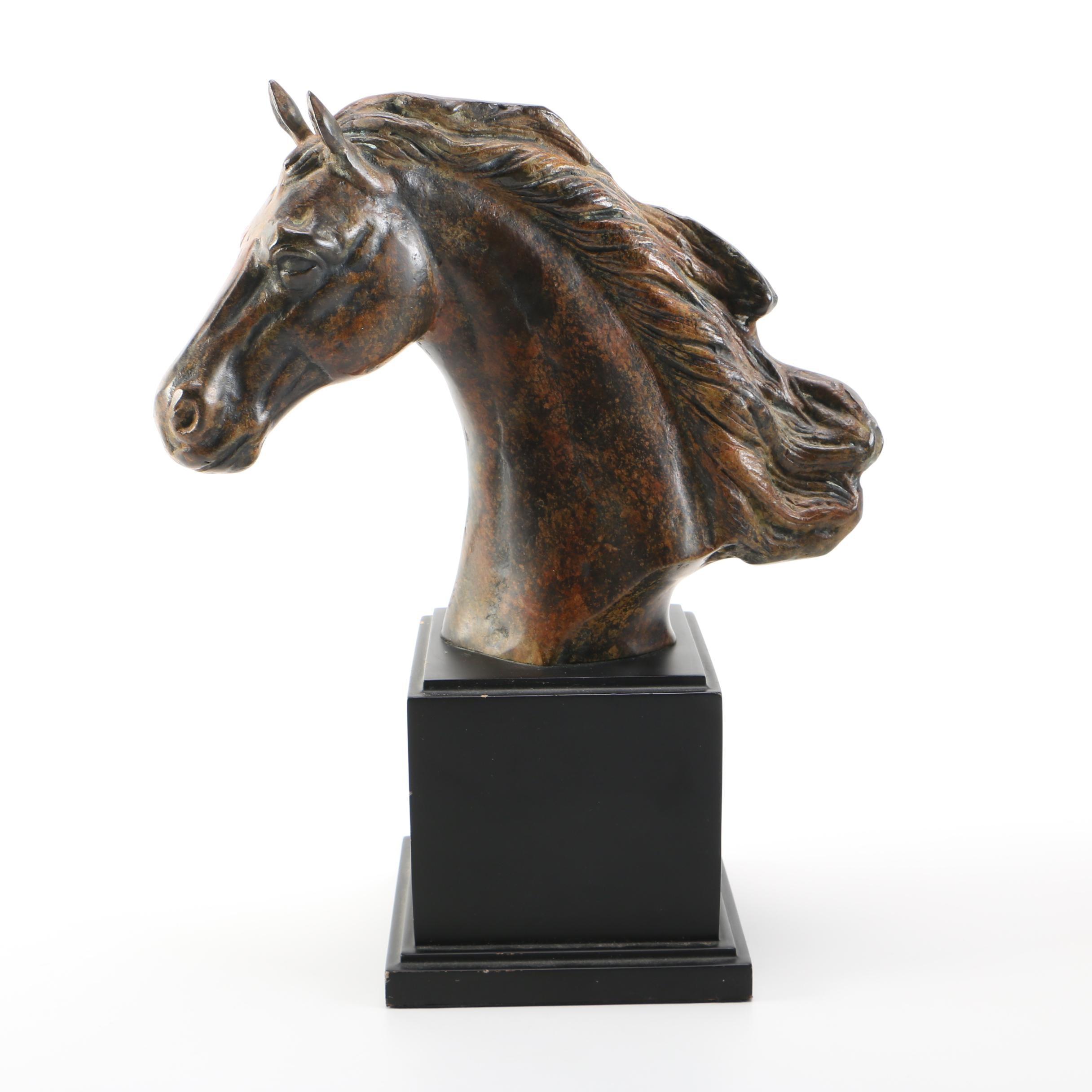 Decorative Metal Horse Head