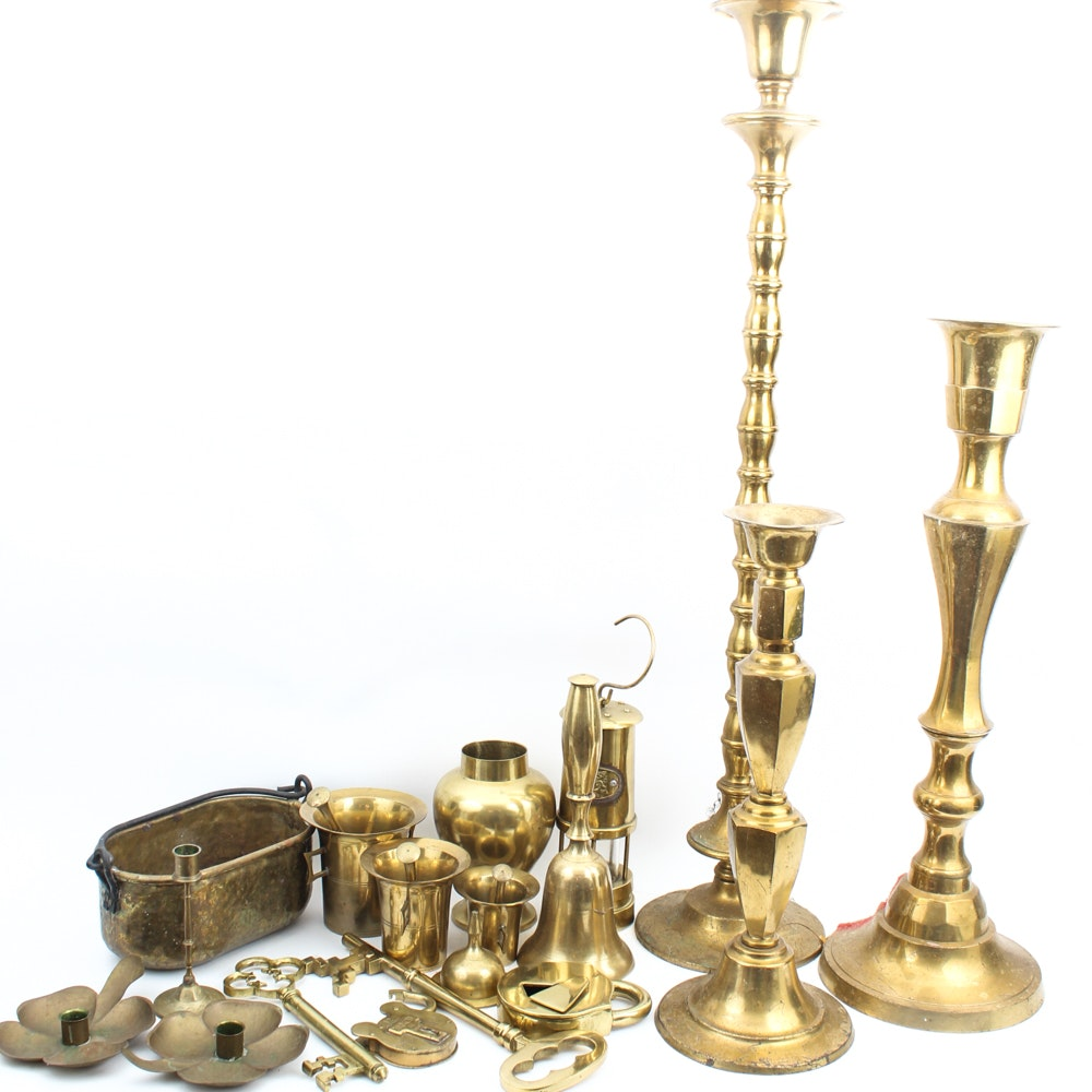 Vintage Brass Collectibles