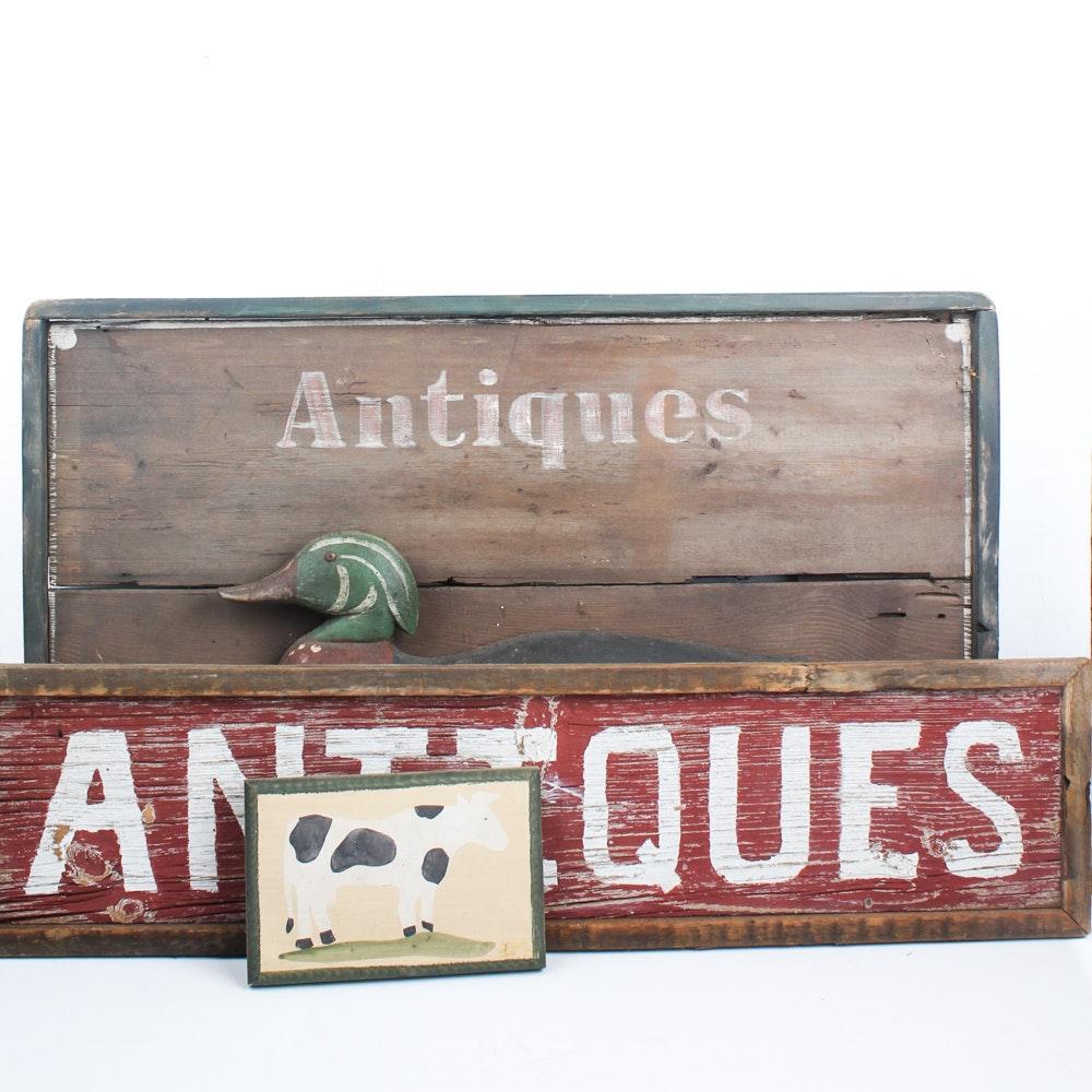 Rustic Signage Assortment