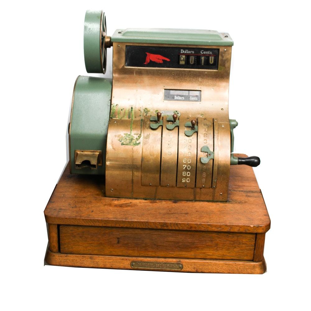 National Cash Register Co. Brass Register