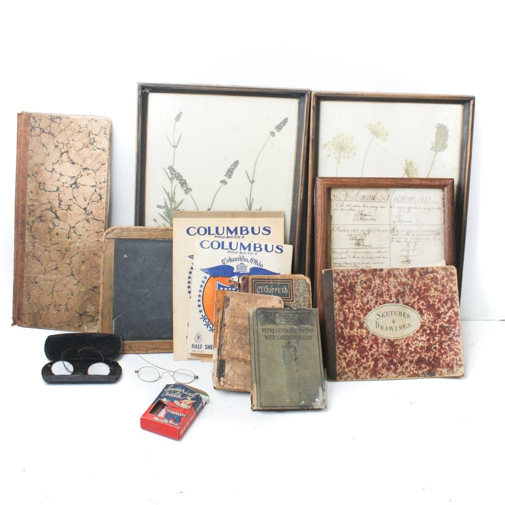 Vintage and Antique School Supplies