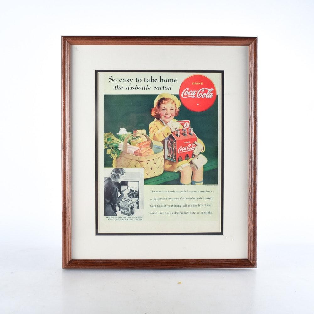 Vintage Coca-Cola Advertisement