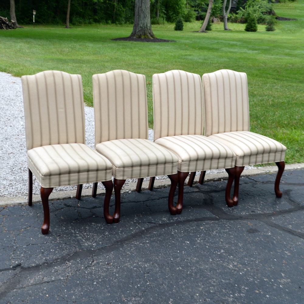 Queen Anne Style Dining Chairs by Design Line