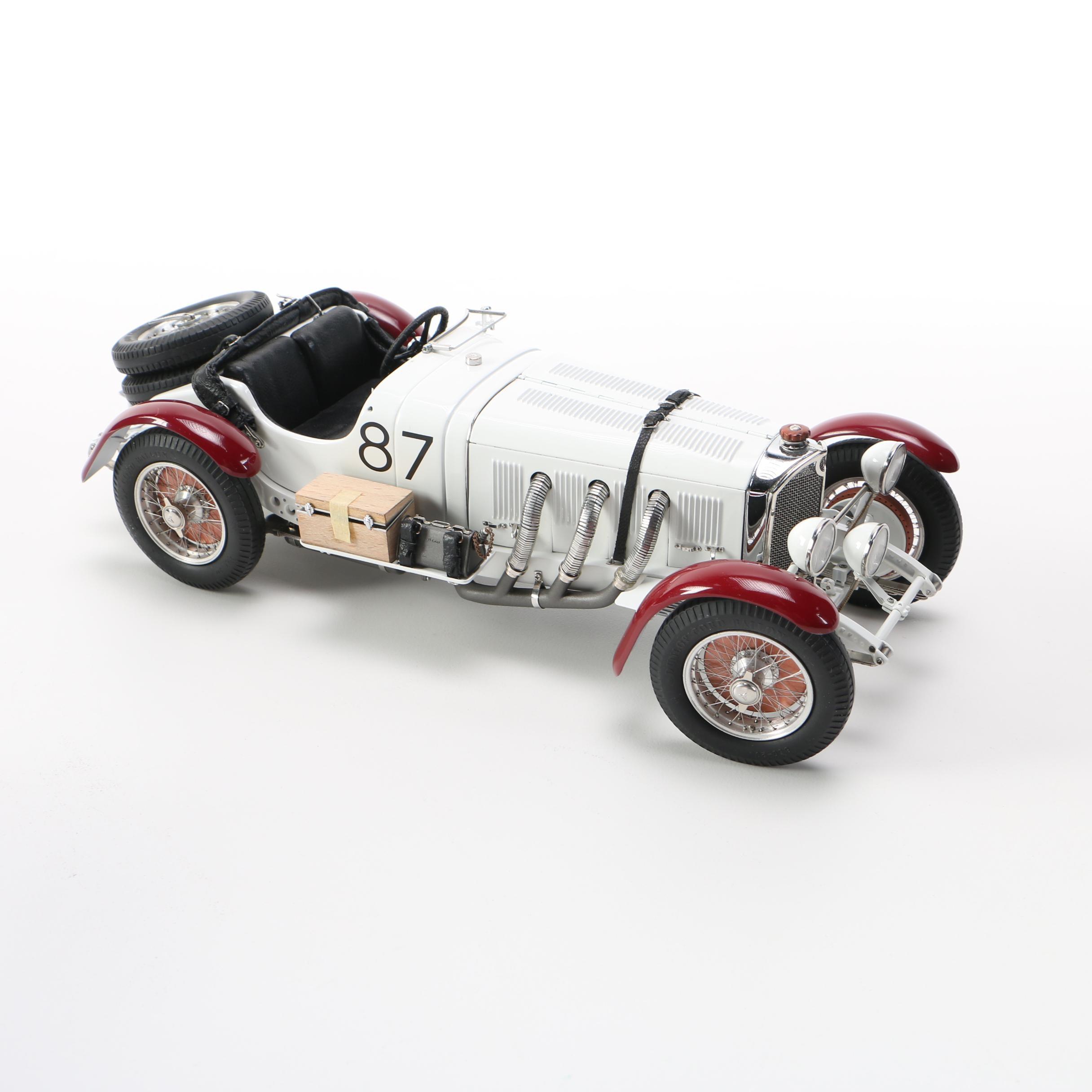 1931 Mercedes‑Benz SSKL Mille Miglia Die-Cast Car by CMC
