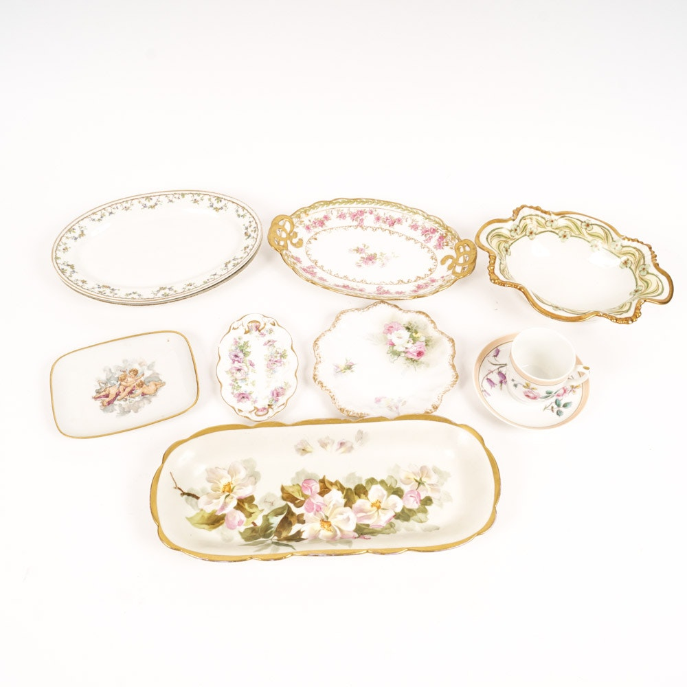 Collection of Fine China Featuring Limoges