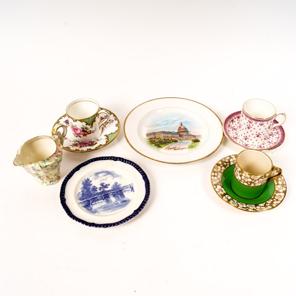 Collection of English Fine China