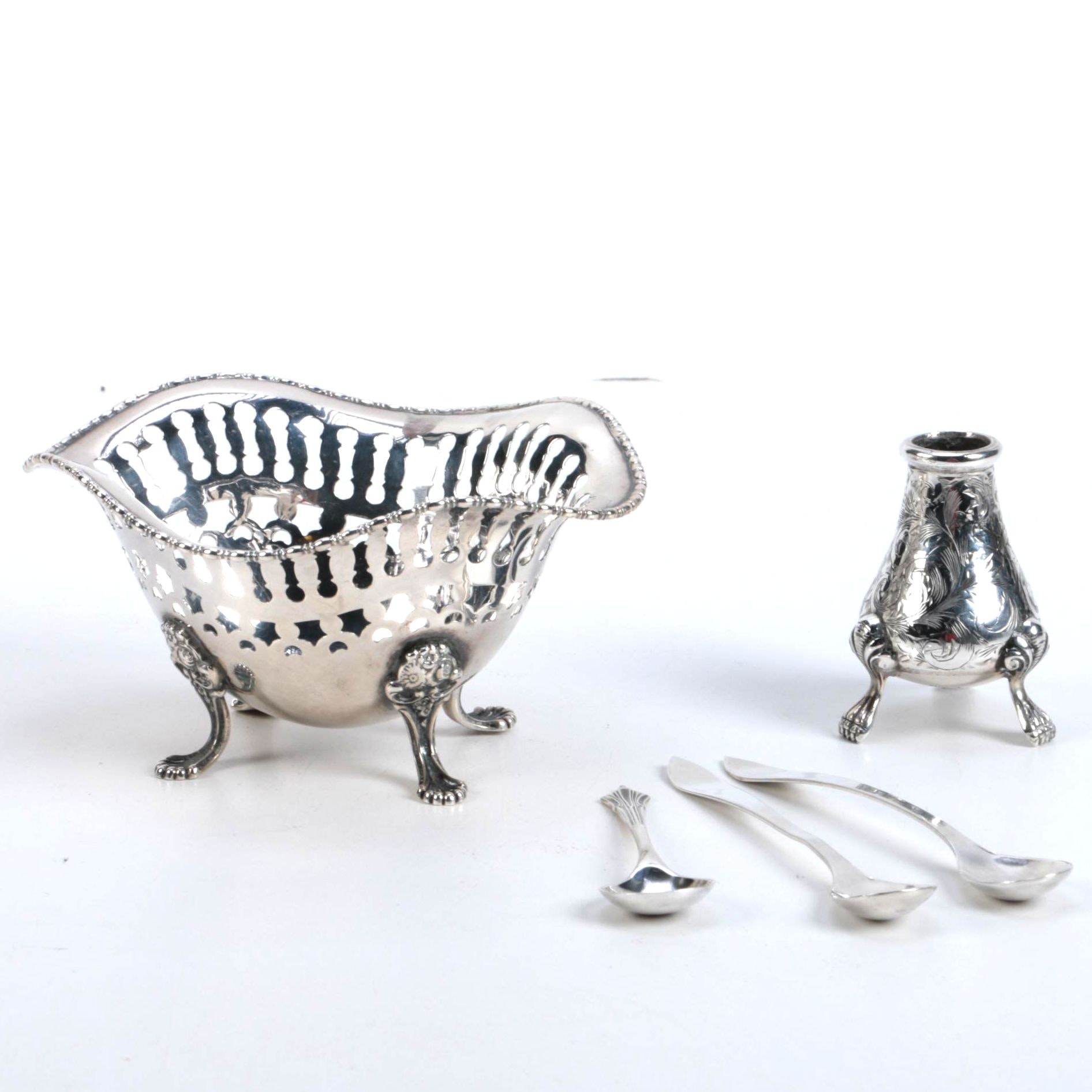 Group of Sterling Silver Tableware Featuring Towle