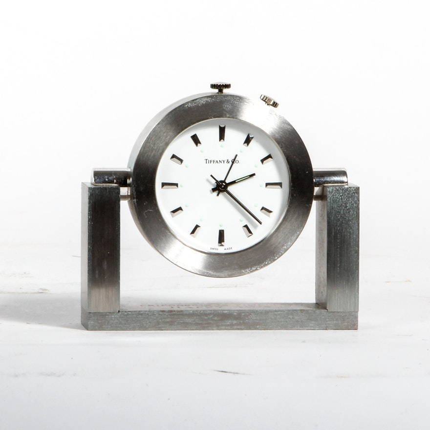 8cedd741e Tiffany   Co. Desk Clock   EBTH