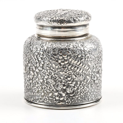 Tiffany & Co Sterling Silver Inkwell Circa 1873-91