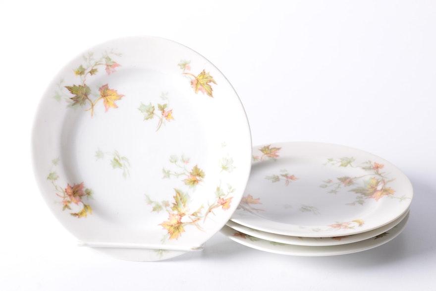 haviland limoges autumn leaf china tableware ebth. Black Bedroom Furniture Sets. Home Design Ideas