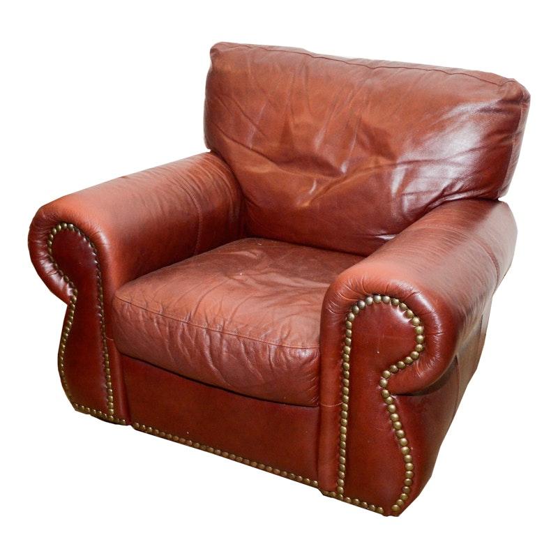 Bon Divani Chateau Du0027ax Italian Leather Recliner ...