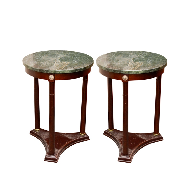 Powell Marble Top Accent Tables