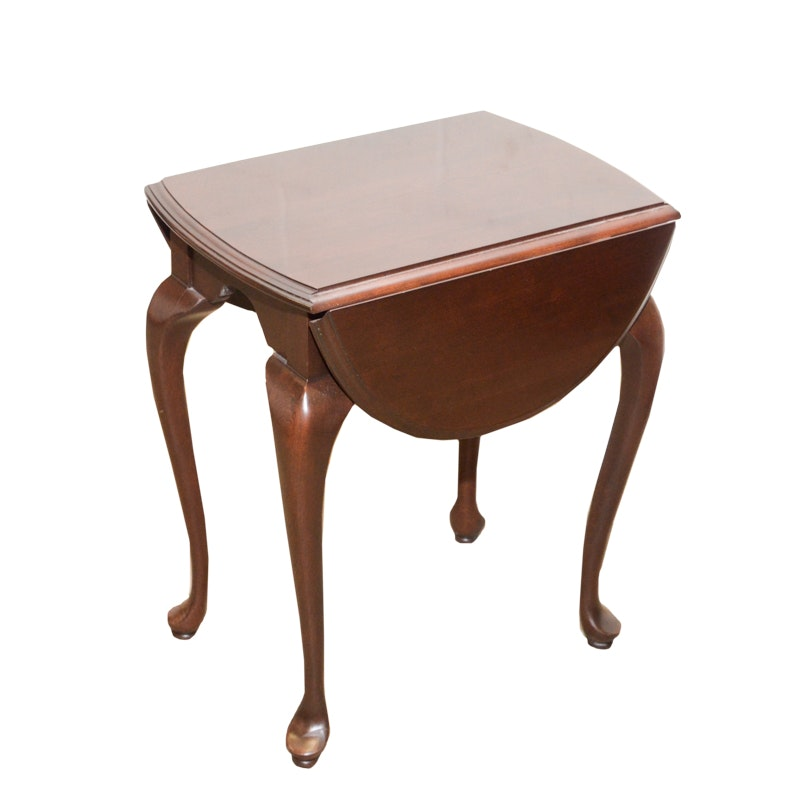 "Ethan Allen ""Georgian Court"" Drop Leaf Accent Table"