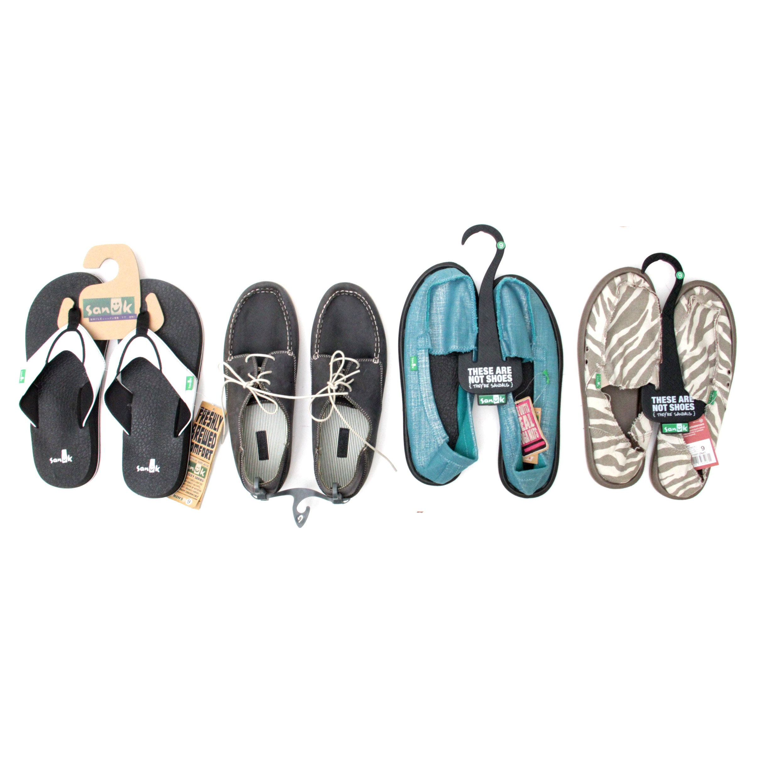Collection of Size 9 Sandals to Sanuk and Olukai