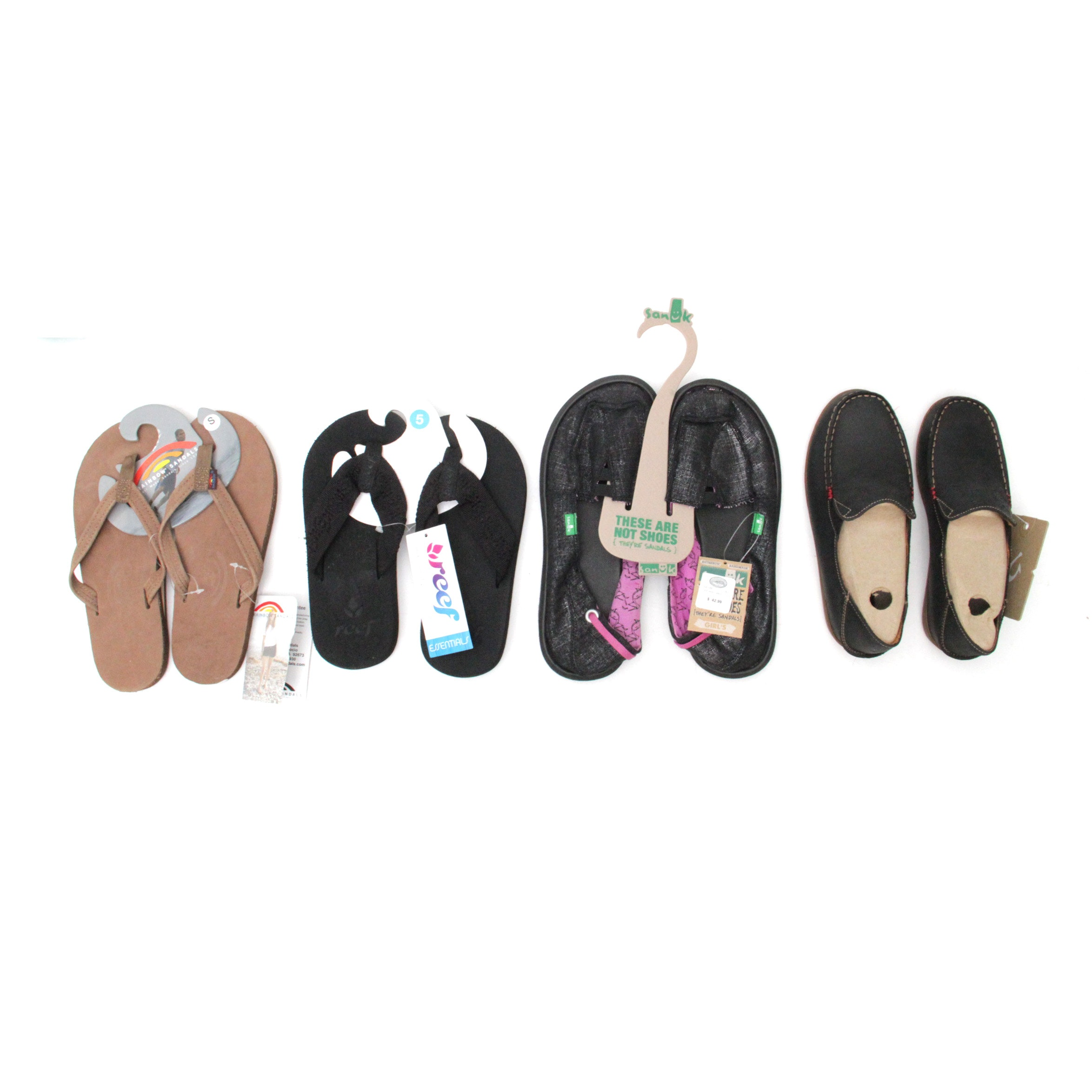 New Women's Flip-Flops, Water Sandals and OluKai Shoes Size 5