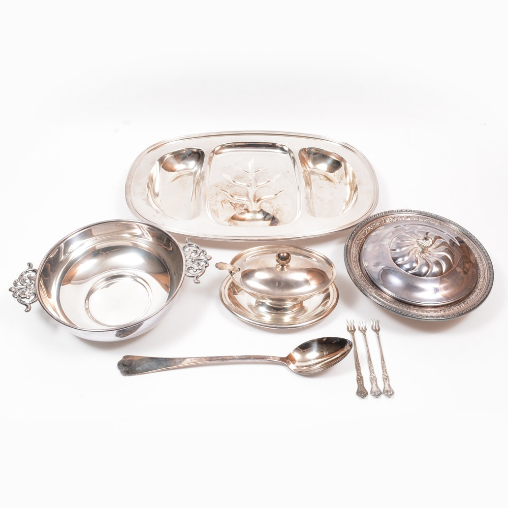 Reed & Barton Plated Silver Tableware