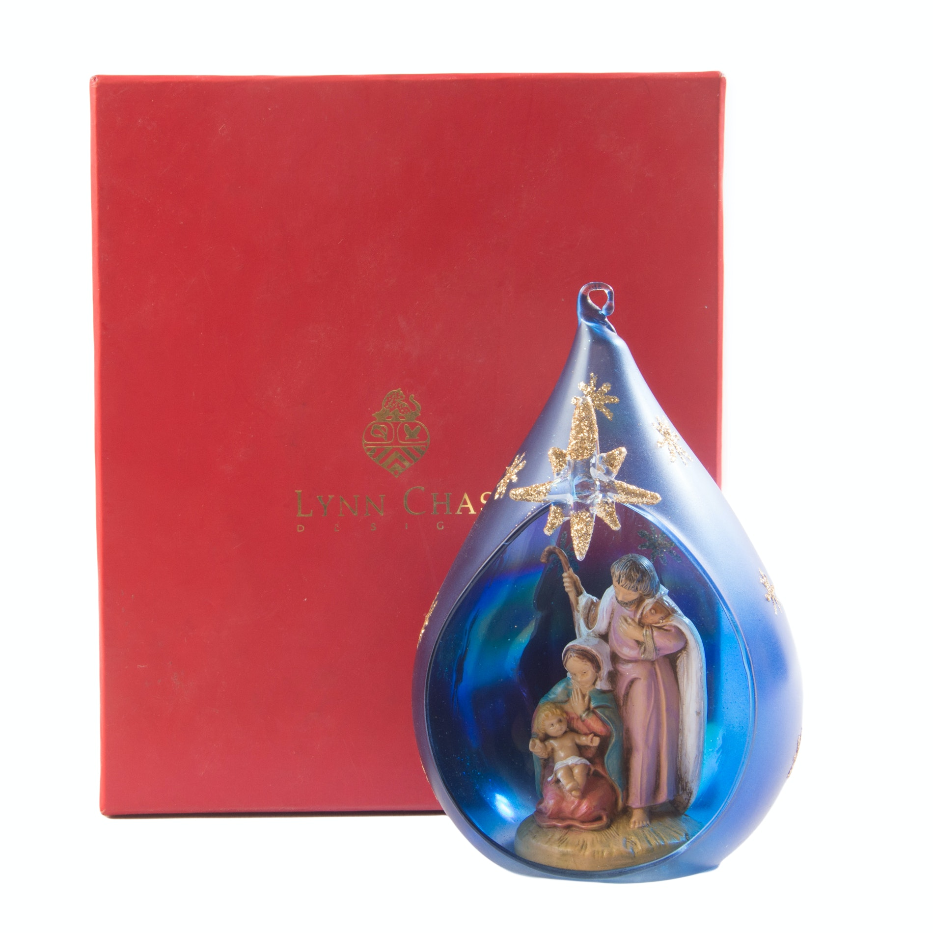 Lynn Chase Nativity Ornament