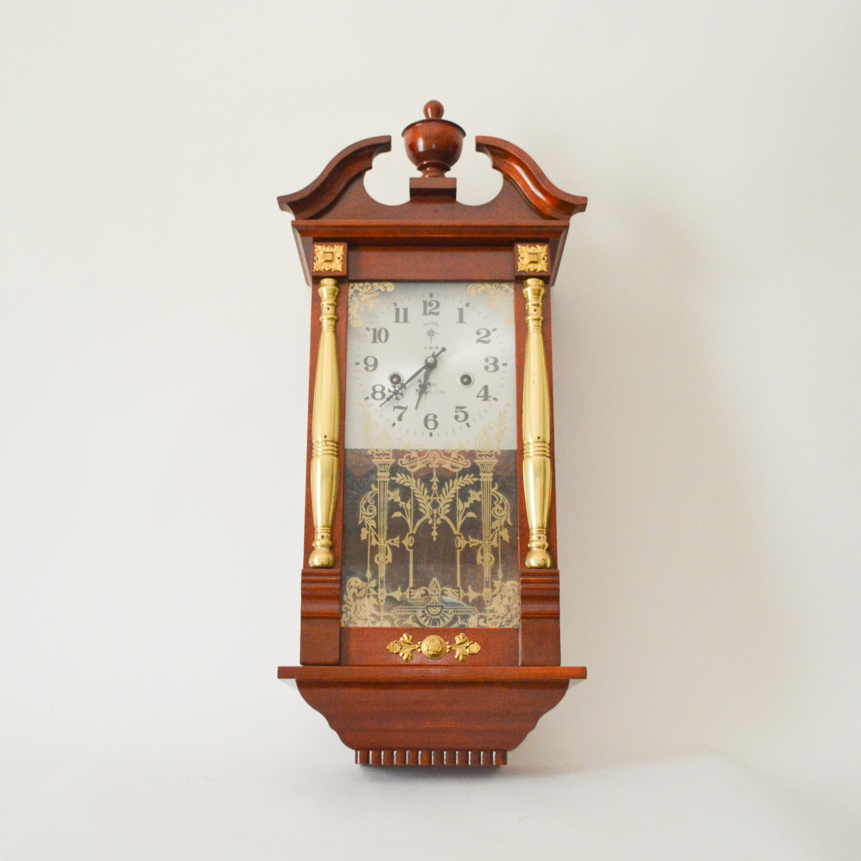 Polaris 31-Day Pendulum Wall Clock