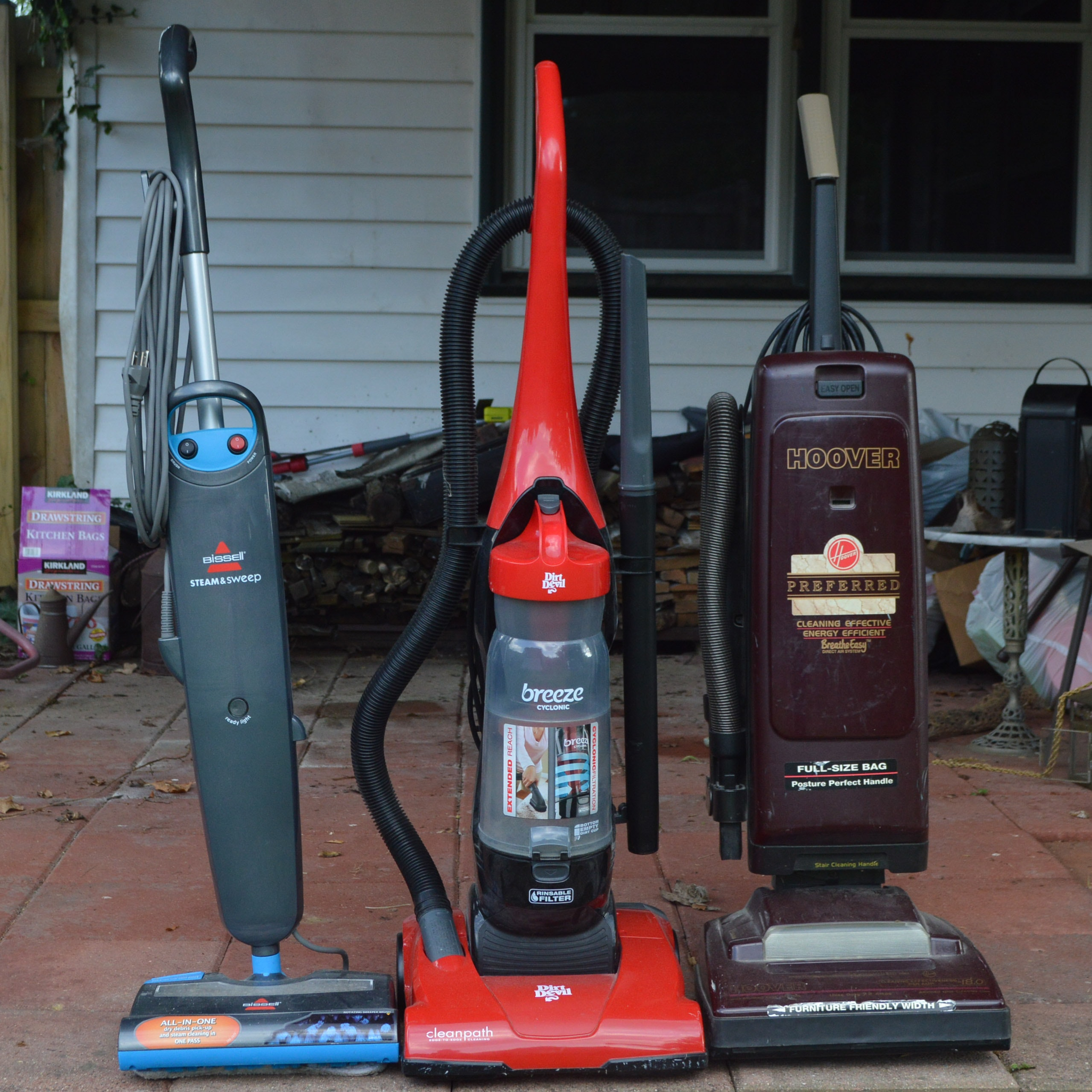 Vacuum Cleaners and Bissell All-in-One