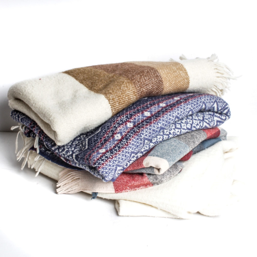 Vintage Wool Blanket Collection