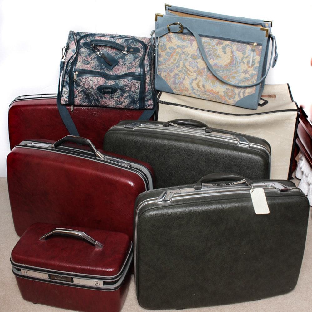 Vintage Luggage Assortment