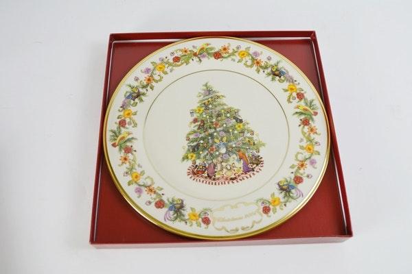 Lenox 2004 Brazil Christmas Trees Around The World Collector Plate