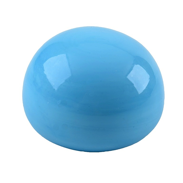 Minimalist Limited Persian Blue Baccarat Paperweight