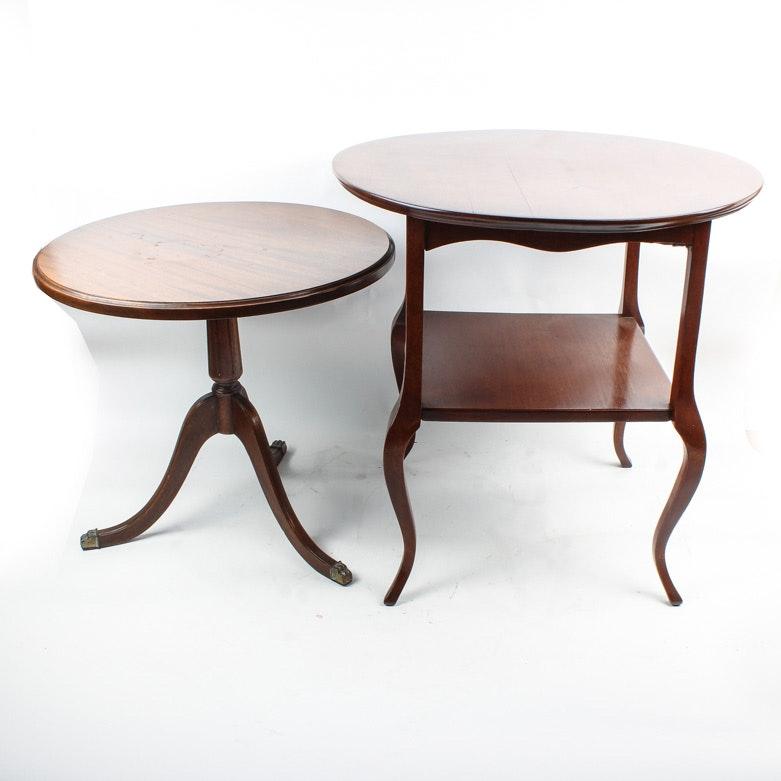 Pair of Vintage Side Tables