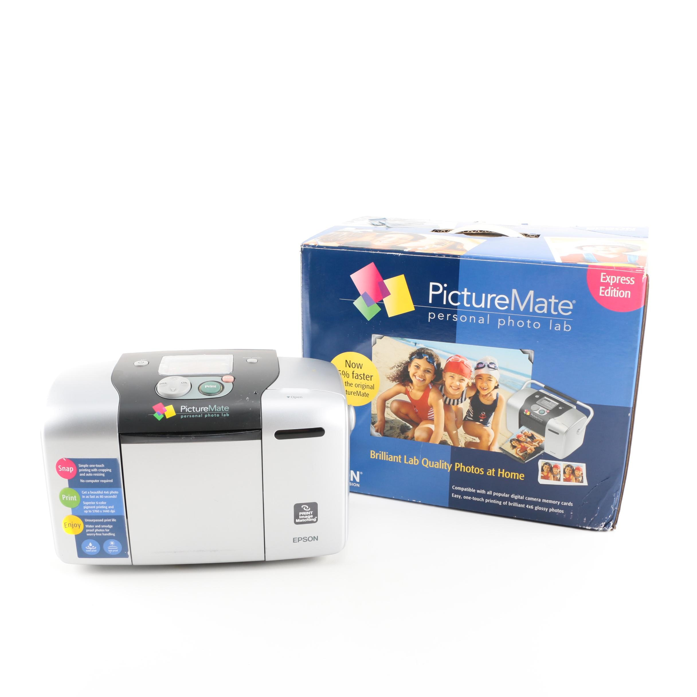 Epson Picturemate Personal Photo Lab Express Edition Ebth