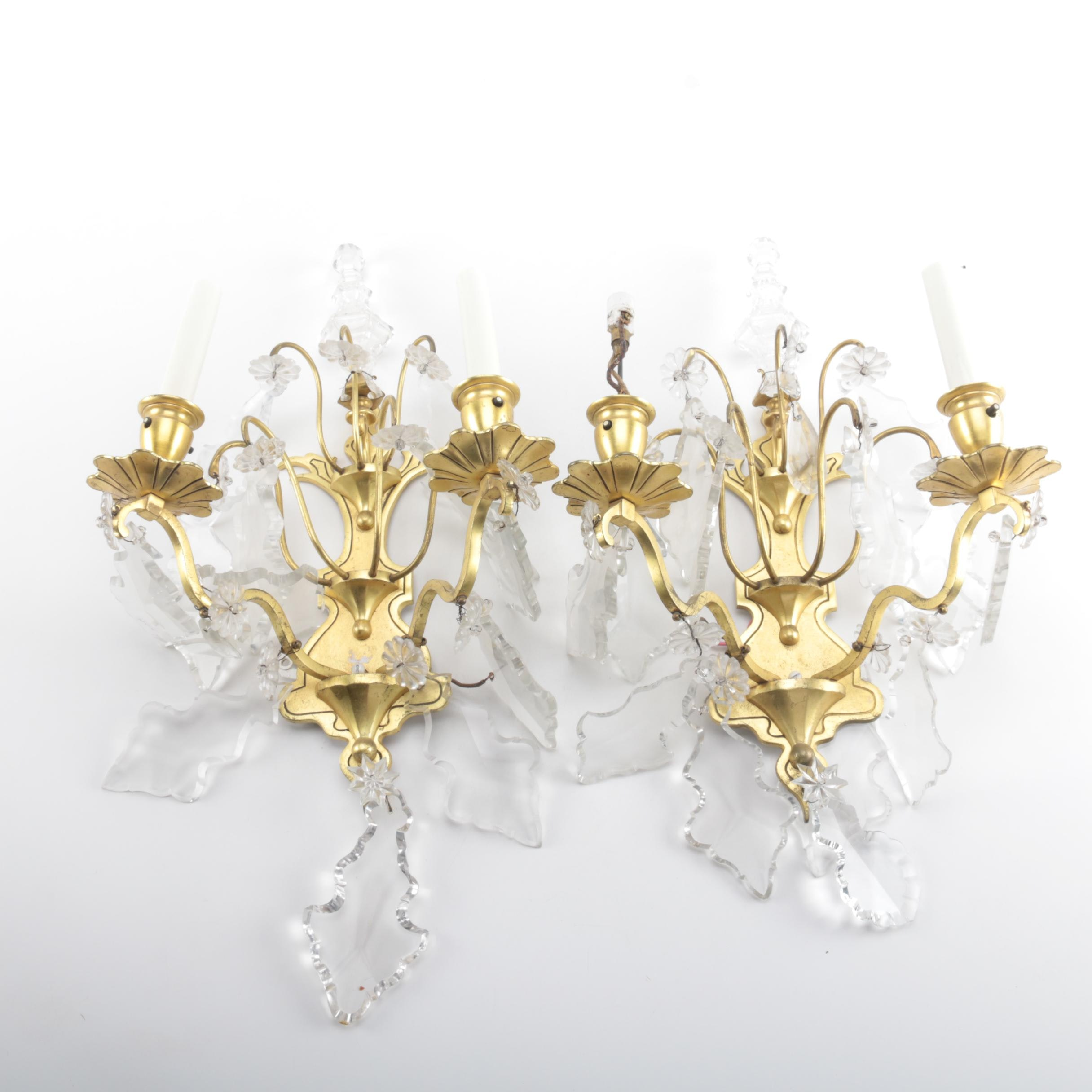 Chandelier Style Sconces.